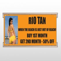 Rio Tan Beach 489 Track Sign