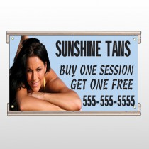 Sunshine Tans 297 Track Sign