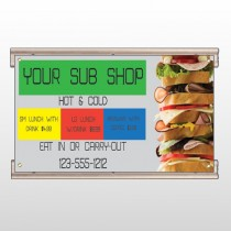 Sandwich 375 Track Sign