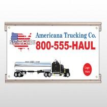 Tanker Truck 315 Track Sign