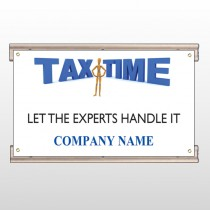 Tax Time 153 Track Sign