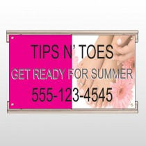 Tips & Toes 488 Track Sign