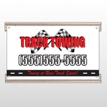 Towing 311 Track Sign