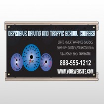 Traffic School 152 Track Sign