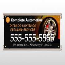 Detailing Services 115 Track Sign