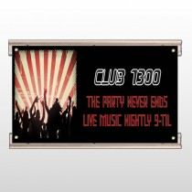 Night Club 523 Track Sign