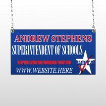 Superintendent 306 Window Sign