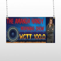 Amp Morning Show 439 Window Sign