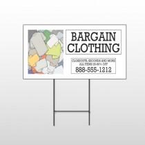 Bargain Bin 532 Wire Frame Sign