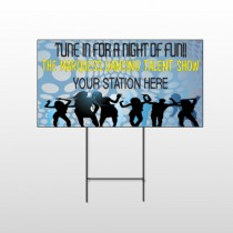 Talent Show 440 Wire Frame Sign