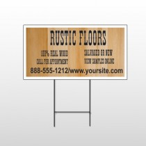 Wood Panel 248 Wire Frame Sign