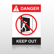 ANSI Danger Keep Out