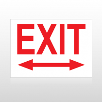 Exit 04 Sign