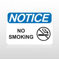 OSHA Notice No Smoking