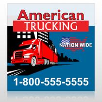 American Truck 295 Custom Banner
