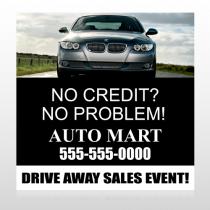 Auto Mart 114 Site Sign