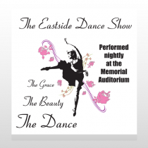Ballet Dance 517 Custom Decal