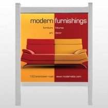 "Art Furnishing 535 48""H x 48""W Site Sign"