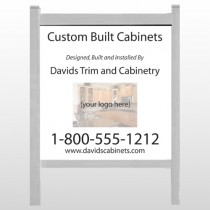 "Cabinet 241 48""H x 48""W Site Sign"