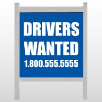 "Drivers Wanted 314 48""H x 48""W Site Sign"