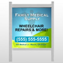 "Family Medical 138 48""H x 48""W Site Sign"