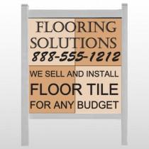 "Flooring 247 48""H x 48""W Site Sign"