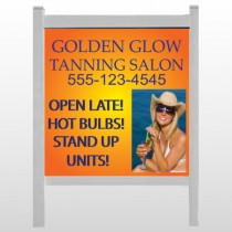 "Golden Glow 491 48""H x 48""W Site Sign"