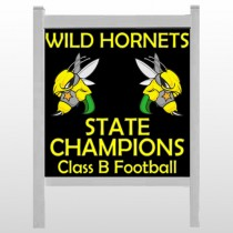 "Hornet 44 48""H x 48""W Site Sign"