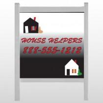 "Househelper 245 48""H x 48""W Site Sign"