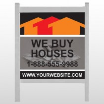 "Money & Dollar Signs 853 48""H x 48""W Site Sign"