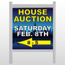 "Open House Night City 708 48""H x 48""W Site Sign"
