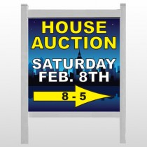 "Open House Night City 709 48""H x 48""W Site Sign"