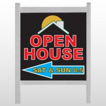 """Open Moon Roof 727 48""""H x 48""""W Site Sign"""