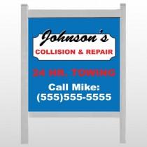 """Repair 124 48""""H x 48""""W Site Sign"""