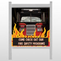 "Safety Program 427 48""H x 48""W Site Sign"