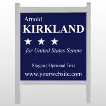 "Senate 134 48""H x 48""W Site Sign"