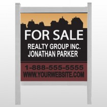 "Silhouette Community 851 48""H x 48""W Site Sign"