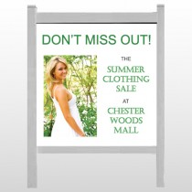 "Summer Sale 533 48""H x 48""W Site Sign"
