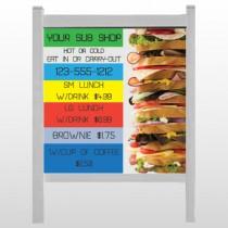 "Sandwich 375 48""H x 48""W Site Sign"