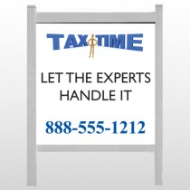 "Tax Time 171 48""H x 48""W Site Sign"