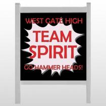 "Team 43 48""H x 48""W Site Sign"