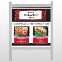 "Restaurant Specials 370 48""H x 48""W Site Sign"