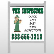 "Inspector 361 48""H x 48""W Site Sign"