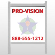 "Property Management 363 48""H x 48""W Site Sign"
