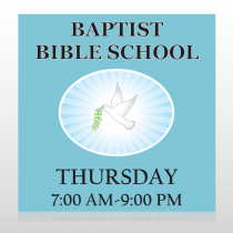 Bibledove 162 Site Sign