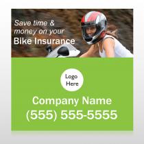 Bike Insurance 110 Custom Banner