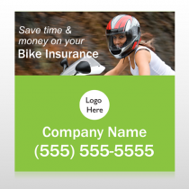 Bike Insurance 110 Custom Decal