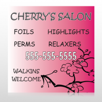Cherry Salon 288 Custom Banner