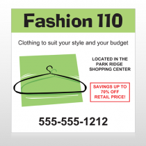 Fashion Hanger 526 Custom Decal