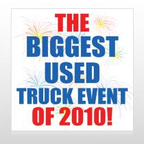 Fireworks 118 Custom Sign